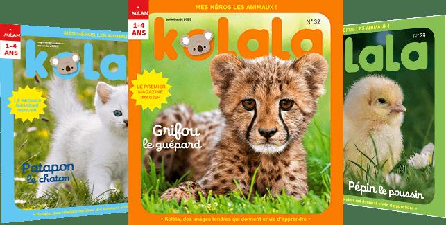 Les couvertures des derniers magazines Kolala